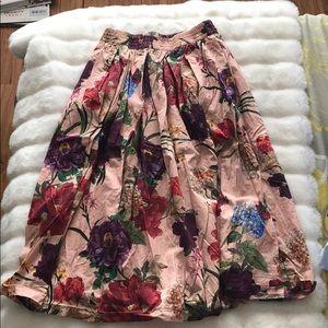 High waisted Zara skirt